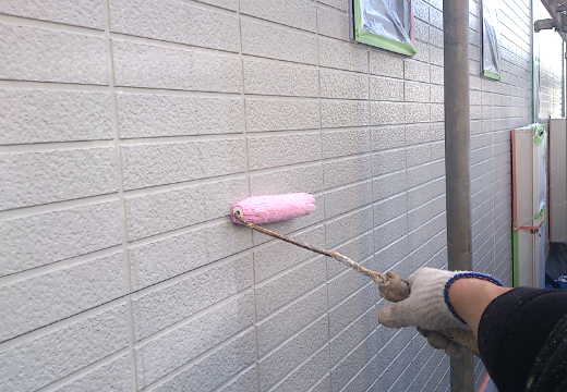 Step4:外壁の下塗り