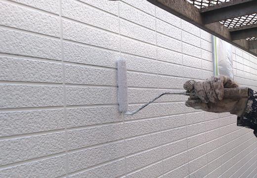 Step6:外壁の上塗り